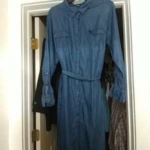 Basic Edition lightweight Cotton Denim Dress